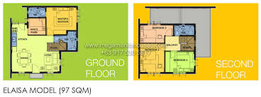 camella homes drina floor plan elaisa of camella tanza house and lot for sale in tanza cavite i