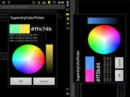 android color picker design android apps 17 awesome android apps that every designer