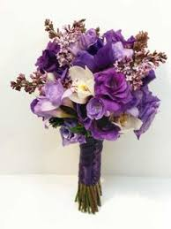 wedding flowers calgary gorgeous plum carnations combined with picasso calla lilies
