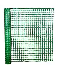 hdx 4 ft x 50 ft green safety edge fence 14900 38 48 the home