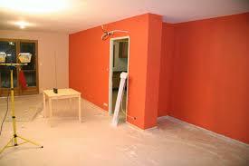 peinture orange cuisine peinture saumon