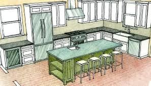 design your own kitchen island impressive multipurpose kitchen islands homebuilding design