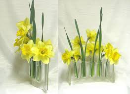 Wholesale Glass Flower Vases Curved Clear Glass Vase Glass Vases Flower Arranging Fresh