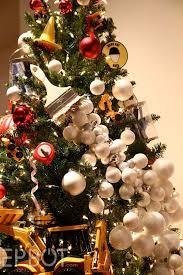 themed christmas trees christmas lights decoration
