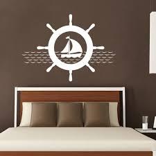 ecshop demo site powered by ecshop helm wall decals ship stickers nautical design boys boat art captains wheel vinyl kids nursery home