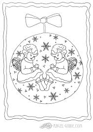 colouring pages christmas baubles christmas colouring pages