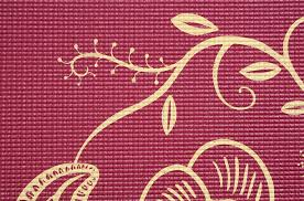 Indian Flower Design Yoga Mat U0027indian Flower U0027 Buy Online At Yogistar Com Yoga