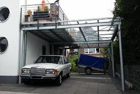 carport mit balkon carport in wesel nappenfeld edelstahl schlosserei in mülheim an