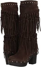 womens size 12 fringe boots boots fringe shipped free at zappos