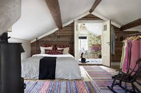 Rustic Attic Bedroom by See All Photos To Rustic Interior Design Rustic Homes Decor Zamp Co