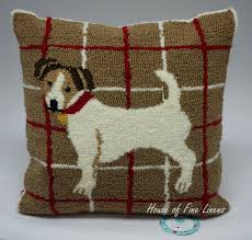 Decorative Dog Pillows Martha Stewart Collection Jack Russell 17