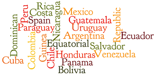 Spanish Speaking Countries Map Spanish Image Gallery Hcpr