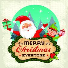christmas cute greeting cards design vector 08 vector card