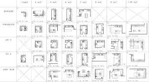 plan de cuisine moderne avec ilot central plans de cuisine amenagement cuisine contemporaine plans de
