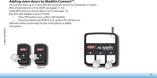 overhead garage door manual aldps garage door position sensor user manual the genie company a