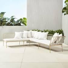 Contemporary Outdoor Sofa Modern Outdoor Patio Furniture Cb2