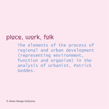 148 urban design word a day place work folk urban design
