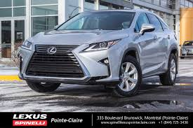 lexus rx 350 awd for sale 2016 lexus rx 350 awd used for sale in leather sunroof