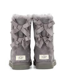 grey womens boots australia ugg australia bailey bow boots grey 485407 129 15