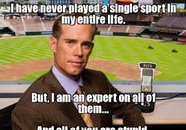 Joe Buck Meme - joe buck yourself i have never played a single sport in my