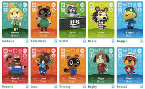 i bought five packs of animal crossing amiibo cards and didn u0027t