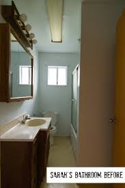 Before And After Small Bathrooms How Sarah Made Her Small Bungalow Bath Look Bigger Hooked On Houses