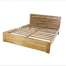 solid wood bed frame queen rustic frames and bath regarding wooden