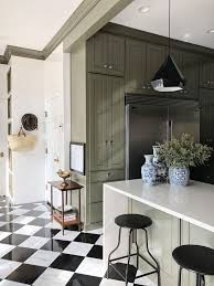 black and white kitchen floor images tile hacks with in stock tile the makerista