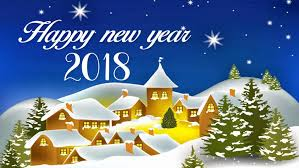 happy new year 2018 best wishes for greetings card hd