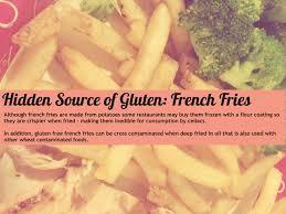 gluten free diet hidden sources of gluten gluten free labels