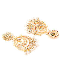 chandeliers earrings sona gold chandeliers earrings single pair buy sona gold