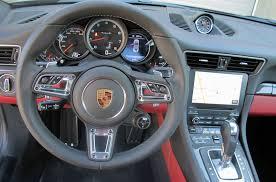 Porsche 911 Turbo S Interior Performance Meets Civility In The 911 Turbo S Wheels Ca