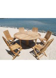 Round Teak Table And Chairs Windsor Teak Furniture Grade A Premium Teak Importer Direct Save