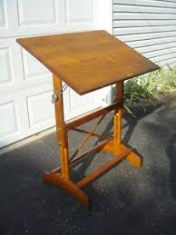 Small Drafting Table Vintage Mid Century Small Drafting Table Free Shipping Ebay