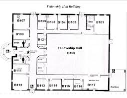 image result for floor plans for church fellowship halls church