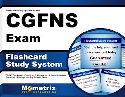 flashcard study system for the cgfns exam cgfns test practice
