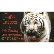 shop tiger tattoos and piercing reviews and photos 4145 w
