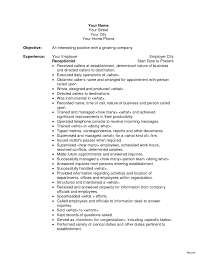 resume template for receptionist resume profile exles receptionist best of receptionist resume