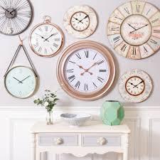 Feminine Clock - clocks astonishing wall clocks oversized wall clock