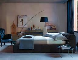 modern bedroom ideas home design ideas view in gallery modern bedroom with distressed wall tufty bed