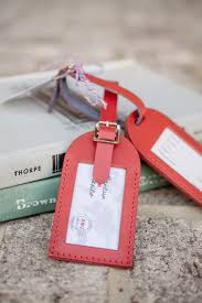 luggage tags favors luggage tag wedding favors from travels favors
