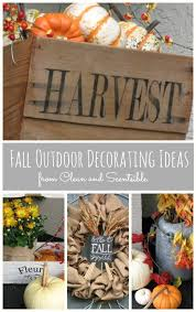 fall front porch outdoor decorating ideas clean and scentsible