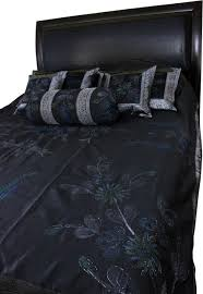 Black Duvet Covers Floral Duvet Cover Set Descargas Mundiales Com