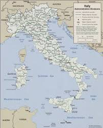 Map Of Italy With Regions by Of Italy 2006