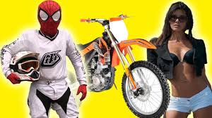 yamaha motocross helmet motorcyclist spiderman staged race motocross on motorcycle yamaha