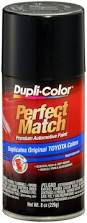 amazon com dupli color bty1622 black sand pearl toyota exact