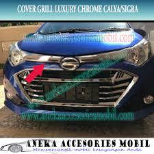 Daihatsu Sigra Trunk Lid Cover Chrome cover grill daihatsu sigra cover grill sigra cover grill luxury