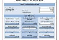 Debt Payoff Spreadsheet Excel Debt Payoff Spreadsheet Template