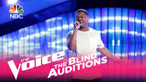 Song Chances Are From The Blind Side The Voice 2017 Blind Audition Kawan Debose