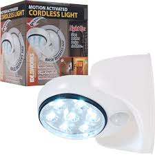 Motion Activated Cordless Light Outdoor Ideaworks 82 6676 Motion Activated Cordless Light